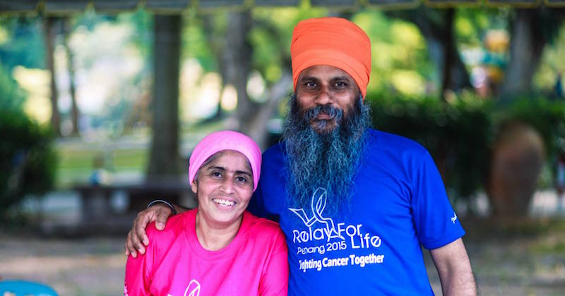 Malaysian Sikh Couple Keen To Spread Hope Again At Relay